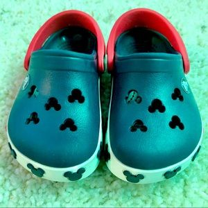 SOLD - Mickey Mouse clog crocs